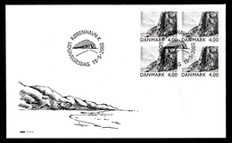 DENMARK 2002 Landscape Portraits/Bornholm: Joint Issue First Day Cover CANCELLED - FDC
