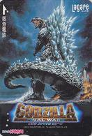 Carte Prépayée Japon - Cinema Film - GODZILLA / FINAL WARS - Japan Movie Card - Kino Karte - 11455 - Cinéma
