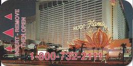 Flamingo Casino - Las Vegas NV - Narrow Hotel Room Key Card - Hotelsleutels (kaarten)