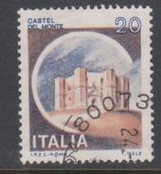 Italy Republic S 1506 1980 Castle   Lire 20 Del Monte Andria,used - 1971-80: Used