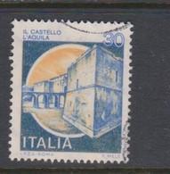 Italy Republic S 1506A 1981 Castle 30 Lire Il Castello L'Aquila,used - 1971-80: Used