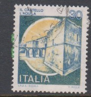 Italy Republic S 1506A 1981 Castle Dell'aquila,used - 1971-80: Used