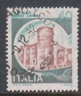 Italy Republic S 1507 1980 Castle   Lire 40 Ursino Catania,used - 1971-80: Used