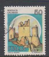 Italy Republic S 1508 1980 Castle  50 Lire Rocca Di Calascio,used - 1971-80: Used