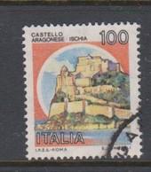 Italy Republic S 1511 1980 Castle  Lire 100 Aragonese Ischia,used - 1971-80: Used