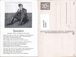 624203,WK 2 Liedkarte Hannelore Soldat Uniform - Weltkrieg 1939-45