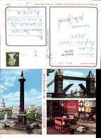 624176,Reklame AK London Bus Coca Cola Reklame BP - Werbepostkarten
