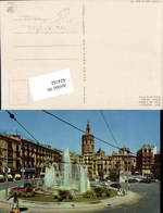 624162,Reklame AK Valencia Coca Cola Reklameschild Kreisverkehr - Werbepostkarten