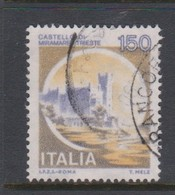 Italy Republic S 1513 1980 Castle  150 Lire Miramare Trieste,used - 1971-80: Used
