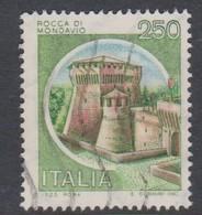 Italy Republic S 1517 1980 Castle  Lire 250 Rocca Di Mondavio,used - 1971-80: Used