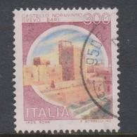 Italy Republic S 1518 1980 Castle  Lire 300 Normanno-Svevo Bari,used - 1971-80: Used