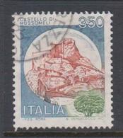 Italy Republic S 1519 1980 Castle  350 Lire Mussomeli,used - 1971-80: Used