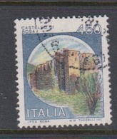 Italy Republic S 1521 1980 Castle  Lire 450 Bosa,used - 1971-80: Used