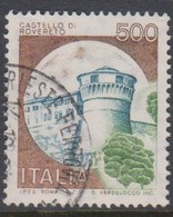 Italy Republic S 1522 1980 Castle  Lire 500 Rovereto,used - 1971-80: Used