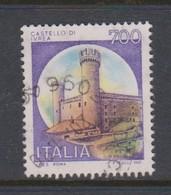 Italy Republic S 1524 1980 Castle  Lire 700 Ivrea,used - 1971-80: Used