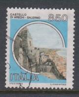 Italy Republic S 1525A 1992 Castle Lire 850 Arechi-salerno,used - 1971-80: Used