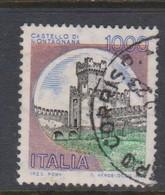 Italy Republic S 1527 1980 Castle  Lire 1000 Montagnana,used - 1971-80: Used