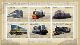 Mozambique 2009 History Of Trains  /  Diesel Trains - Mozambique