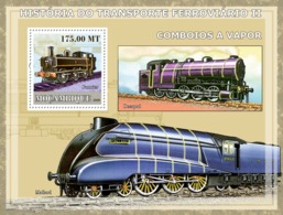 Mozambique 2009 History Of Trains  /  Steam Trains - Mozambique