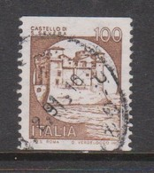 Italy Republic S 1528B 1985 Castle 100 Lire Brown ,used - 1971-80: Used