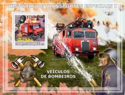 Mozambique 2009 Fire Engines. Fire Trucks - Mozambique