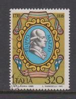 Italy Republic S 1535 1980 Filippo Mazzei ,used - 1971-80: Used