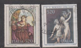 Italy Republic S 1539-1540 1980  Art 7th Issue,used - 1971-80: Used