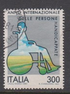 Italy Republic S 1547 1981 International Year Of Disabled ,used - 1971-80: Used