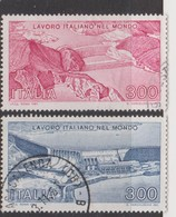 Italy Republic S 1560-1561 1981 Italian Work In The World Used - 1971-80: Used