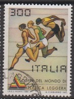 Italy Republic S 1570 1981 World Cup Of Athletics ,used - 1971-80: Used