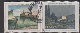 Italy Republic S 1571-1572 1981 Art 8th Issue ,used - 1971-80: Used