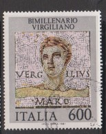 Italy Republic S 1575 1981 Bimillenary Death Of Virgil ,used - 1971-80: Used