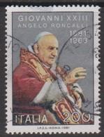 Italy Republic S 1581 1981 Pope John XXIIIbirth Centenary,Used - 1971-80: Used