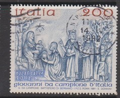 Italy Republic S 1582 1981 Cristmas ,used - 1971-80: Used