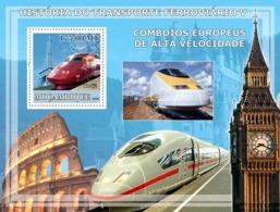Mozambique 2009  European High Speed Trains - Mozambique