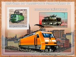 Mozambique 2009   Electric Trains - Mozambique