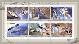 Mozambique 2009 Rockets&  Space  Planes - Mozambique