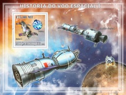 Mozambique 2009 Satellites & Probes ,space - Mozambique