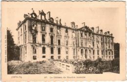 41the 611 CPA - LE CHATEAU DE MEUDON INCENDIE (1870 - 1871) - Meudon
