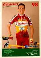 CASINO 98  AG2R... JACKY DURAND....VOIR DOS ....CPM - Radsport