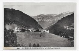 SAINT PIERRE DE CHARTREUSE - N° 15 - LA DENT DE GROLLE - CPA NON VOYAGEE - Chartreuse
