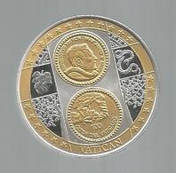 Médaille , VATICAN , 100 Euro, Frais Fr 3.15 E - Non Classés