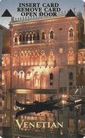 The Venetian Casino - Las Vegas NV - Hotel Room Key Card - Cartas De Hotels
