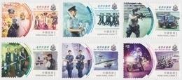 Hong Kong 2019 Our Police Force Stamp Set - 1997-... Sonderverwaltungszone Der China