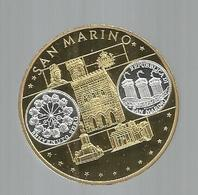 Médaille , SAN MARINO , 2002 ,euro, EUROPA ,  EUROPE ,  Frais Fr 3.15 E - Non Classés