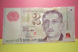 SINGAPORE  - TWO  DOLLARS - Singapore