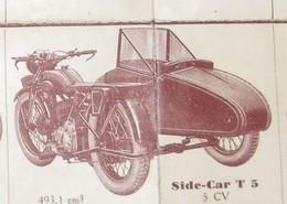 MOTOCONFORT : CARACTERISTIQUES DES MACHINES - Moto