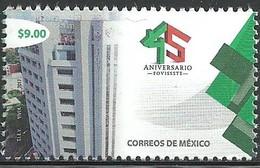 2017 MÉXICO 45 Aniversario Del FOVISSSTE VIVIENDA, ARQUITECTURA MNH LIVING PLACE, ARCHITECTURE, Apartment Building - Mexico