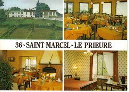 36 Le Prieuré Hôtel Restaurant Saint St Marcel Argenton Sur Creuse 4 Vues Intérieur Et Extérieur PUB Kronenbourg - Unclassified
