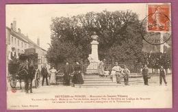 Cpa Bruyeres En Vosges Monument Du Docteur Villeminbelle Animation - Cliché Voinet - 2 Scans - Bruyeres